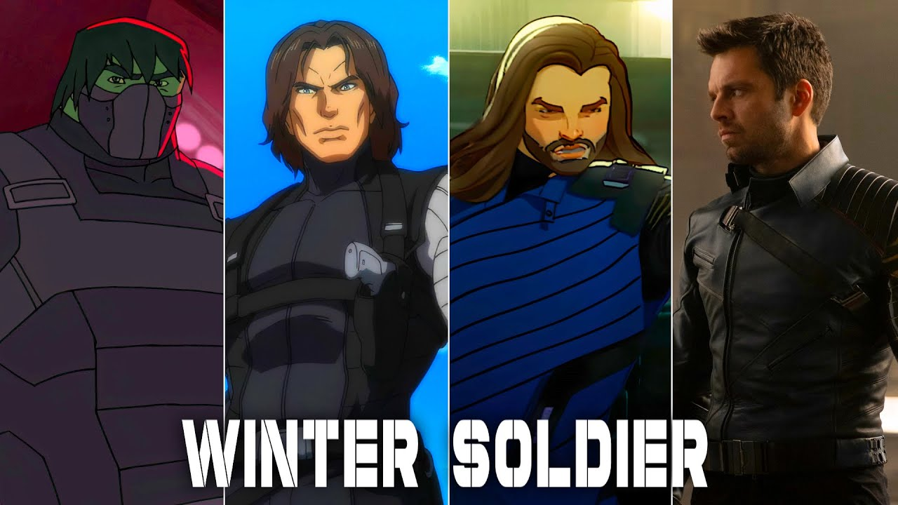 Download Evolution of Winter Soldier in movies and cartoons (60fps)