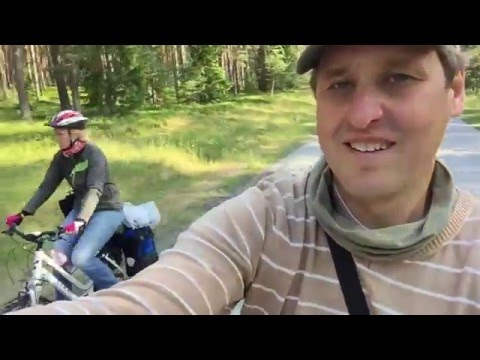 EuroVelo 10, 13 Estonia (Ikla - Pärnu) 2015 - Baltic Sea Cycle Route, Iron Curtain Trail