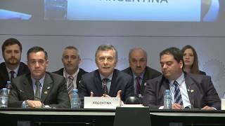 Palabras del Presidente Macri en la cumbre del G20 de empleo y educación