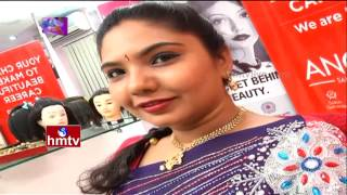 Reverse Twisted Braid Hairstyle | Anoo's Beauty Parlour Experts | Trendy Looks | Avani | HMTV