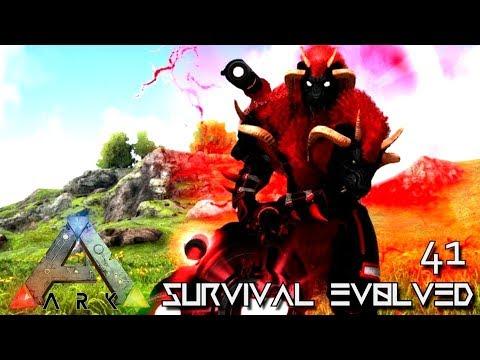 ARK: SURVIVAL EVOLVED: BOSS PSYCHO SUPREME WARCHIEF SOLO E41 !!! ( ARK EXTINCTION CORE MODDED )