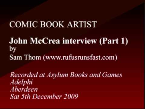Interview with Comic Book Artist John McCrea (Part...