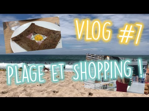• Vlog #7: Plage & Shopping! •