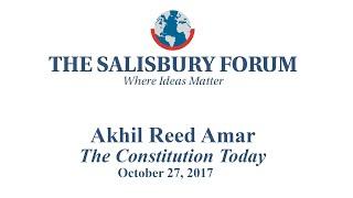 Akhill Reed Amar at The Salisbury Forum thumbnail