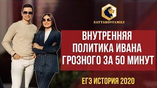 Внутренняя политика Ивана Грозного за 50 минут / ЕГЭ по истории