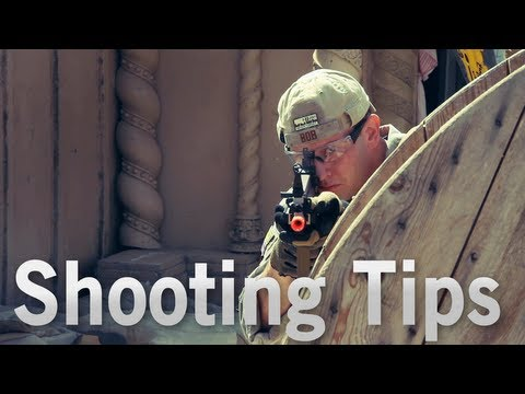 Airsoft GI - Shooting Tips with Bob the Axe Man - Join his Rebel Training Camp on Oct. 19th