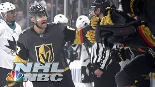 NHL Stanley Cup Playoffs 2019: Sharks vs. Golden Knights | Game 4 Highlights | NBC Sports