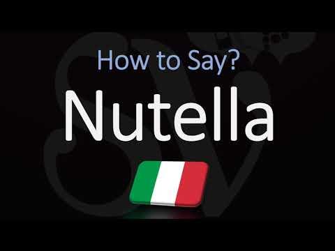 How To Pronounce Nutella? (CORRECTLY) Italian Pronunciation