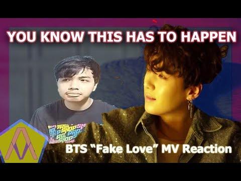 Kau Tau Ini Harus Terjadi (Kpop MV Reaction) [ BTS-Fake Love]