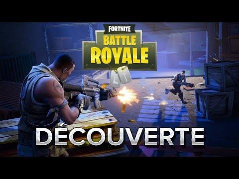 Fortnite Battle Royale #1 : Découverte