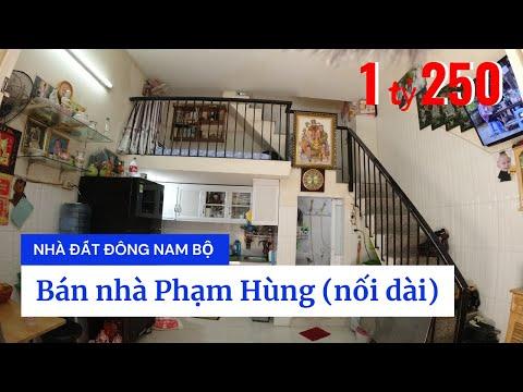 Video nhà bán đường Phạm Hùng (nối dài), cách Quận 5 chỉ 10 phút xe máy