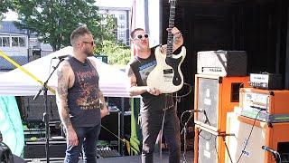Teenage Bottlerocket's Custom Jason Ingrodi Guitar