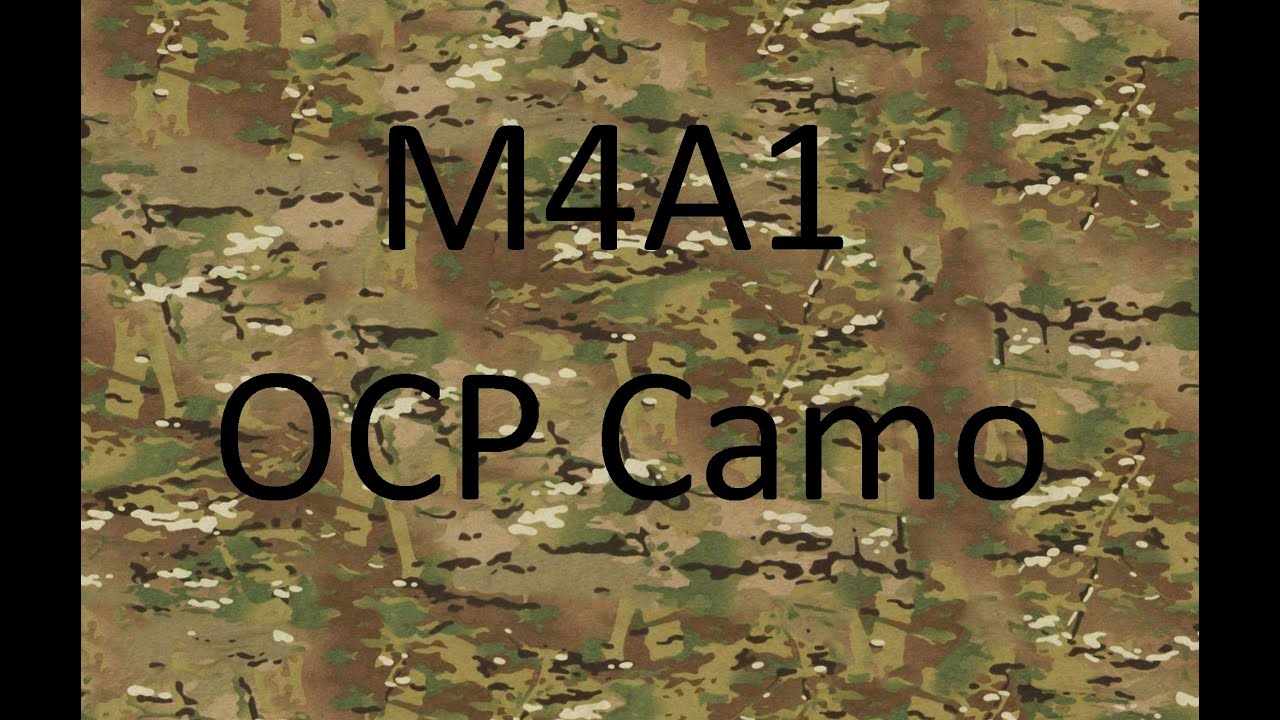 Ocp Camo