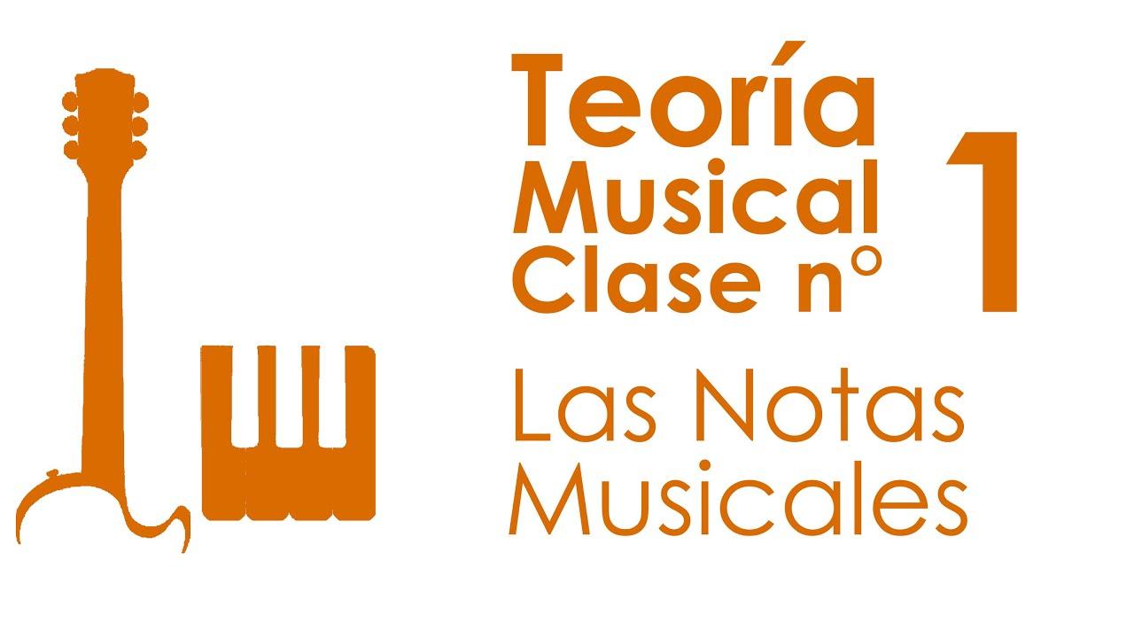 Las Notas Musicales | Teoría Musical, Clase 1