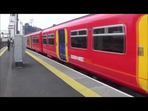 Vauxhall tube+rail station 25/2/16