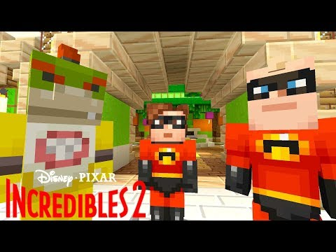 THE INCREDIBLES IN MINECRAFT!?  Nintendo Fun House  Minecraft Switch 274