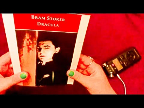 ASMR: (Audio Book Series) Reading Bram Stoker's Dracula ~ Chapter One