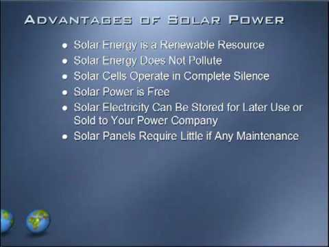 Advantages & Disadvantages of Solar Power