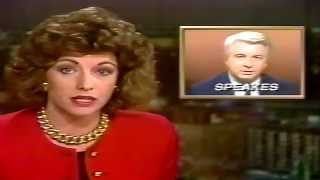 WDSU-TV6 News Tonight  April 15, 1988 New Orleans