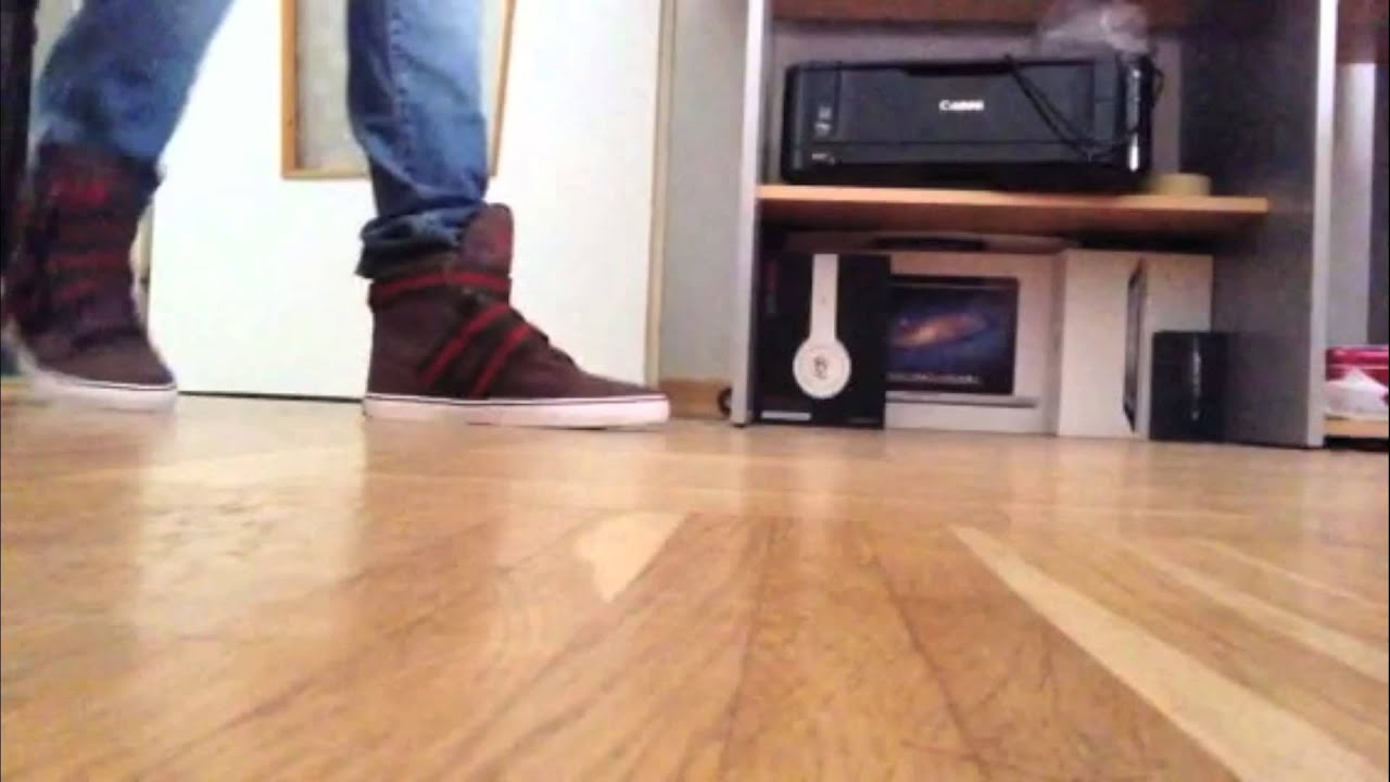 Radii Straight Jacket VLC (Brown/Green/Red Canvas) On Feet - YouTube