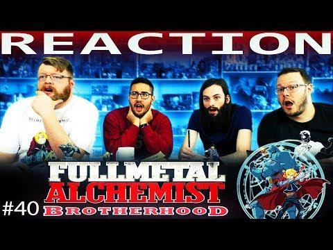 "Fullmetal Alchemist: Brotherhood Episode 40 REACTION!! ""The Dwarf in the Flask"""