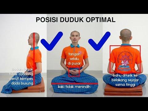 Panduan Meditasi #02 - Postur Duduk   Asyik Bervipassana: Y.M. Bhikkhu Gunasiri