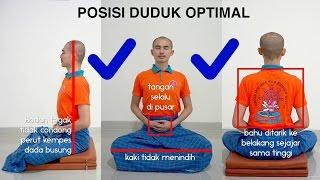 Video Panduan Meditasi #02 - Postur Duduk | Asyik Bervipassana: Y.M. Bhikkhu Gunasiri download MP3, 3GP, MP4, WEBM, AVI, FLV November 2017