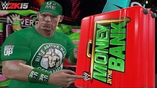 WWE 2K15 PC Mod: John Cena Hidden Money in the Bank Briefcase RAW 1000 Entrance!!