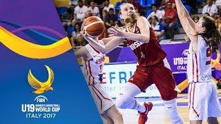 Spain v Russia - Full Game - FIBA U19 Women's Basketball World Cup 2017