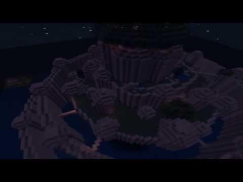 [Minecraft] Map aventure : Laputa, le château dans le ciel poster