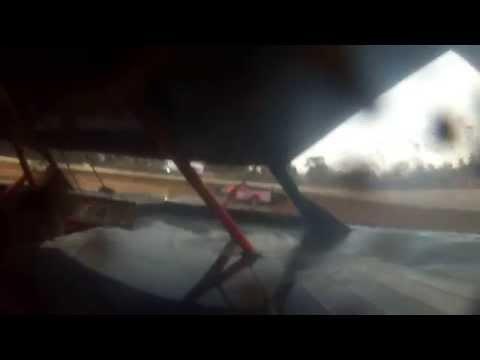Putnam County Speedway Heat Race 3-14-2015 Limited Late Model (On-Board Cam)