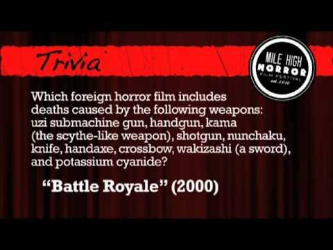 mhhff 2011 horror trivia and sponsor slideshow youtube