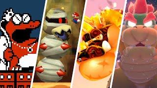 Evolution of Hardest Bosses in All Super Mario Games (1985-2021)