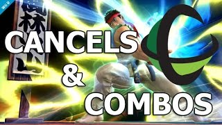 How To: RYU - Specials, Normals, Cancels, and Combos! - Super Smash Bros Wii U