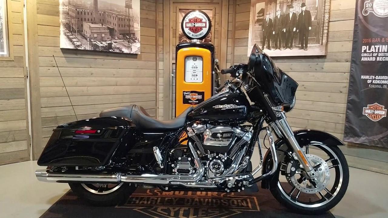 2019 Harley Davidson Street Glide Flhx Vivid Black