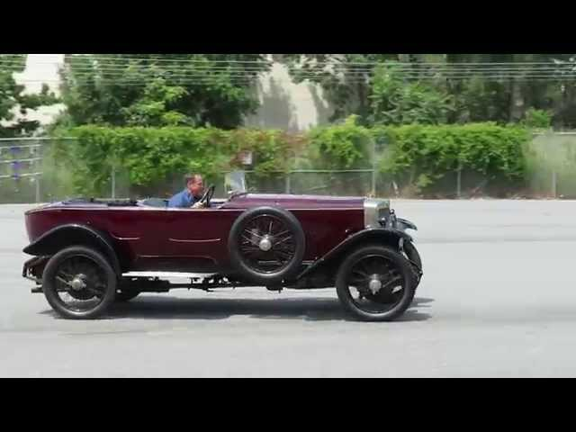 Simeone Foundation 1925 Alfa Romeo RLSS being driven