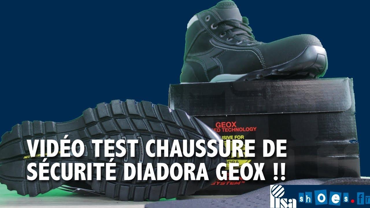 CHAUSSURE DE SÉCURITÉ GEOX ULTRA RESPIRANTE V2 DIADORA