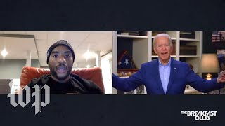 How Biden's 'you ain't black' comment unfolded