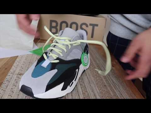 check out 5a379 bf0a5 Yeezy 700 wave runners from ( Stock X ) - YouTube