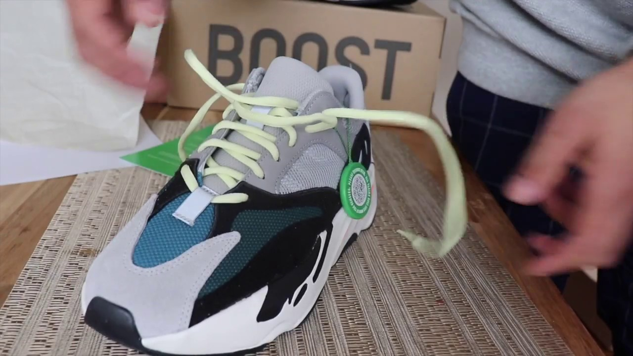 608e47025 Yeezy 700 wave runners from ( Stock X ) - YouTube