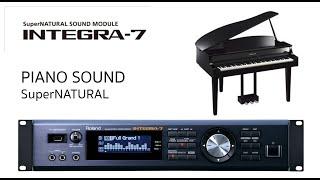 roland integra7, Super Natural piano Sound