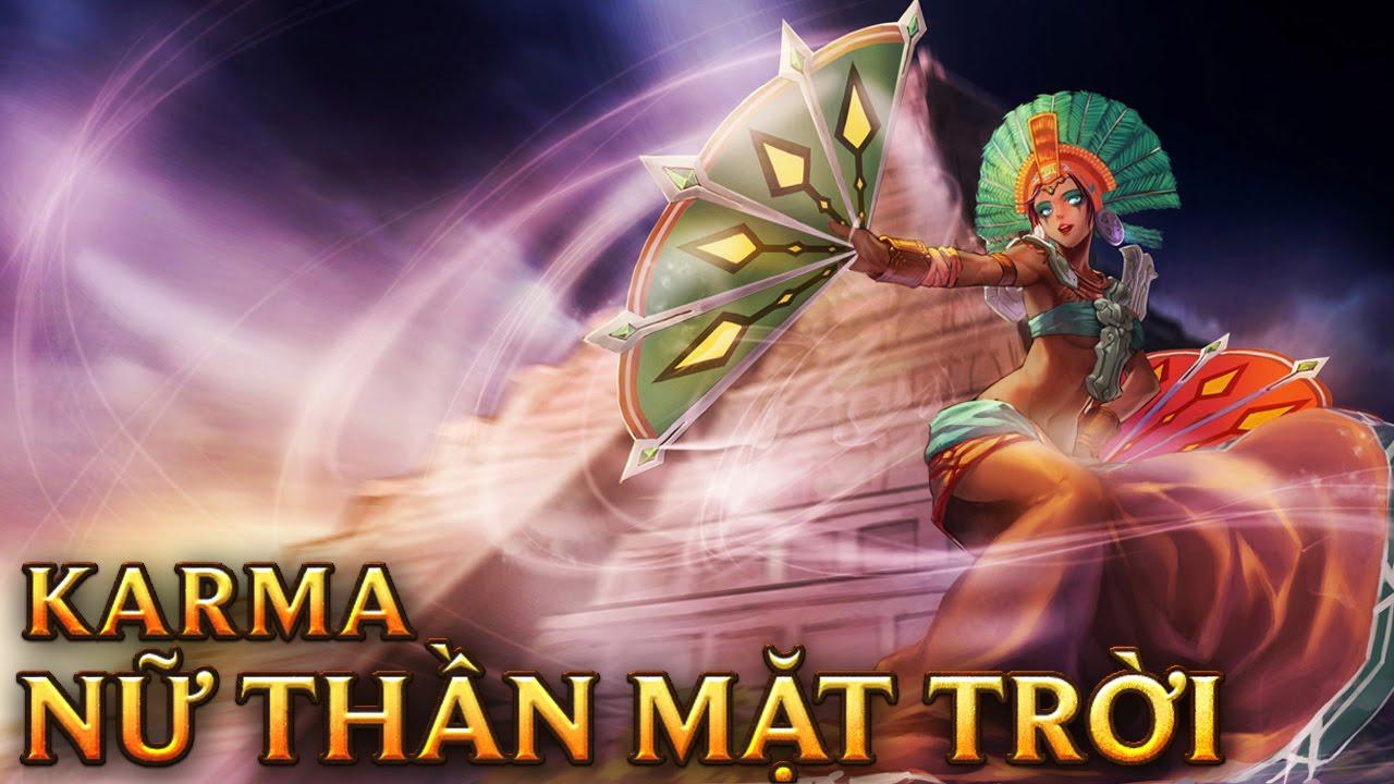 Karma Nữ Thần Mặt Trời – Sun Goddess Karma – Skins lol
