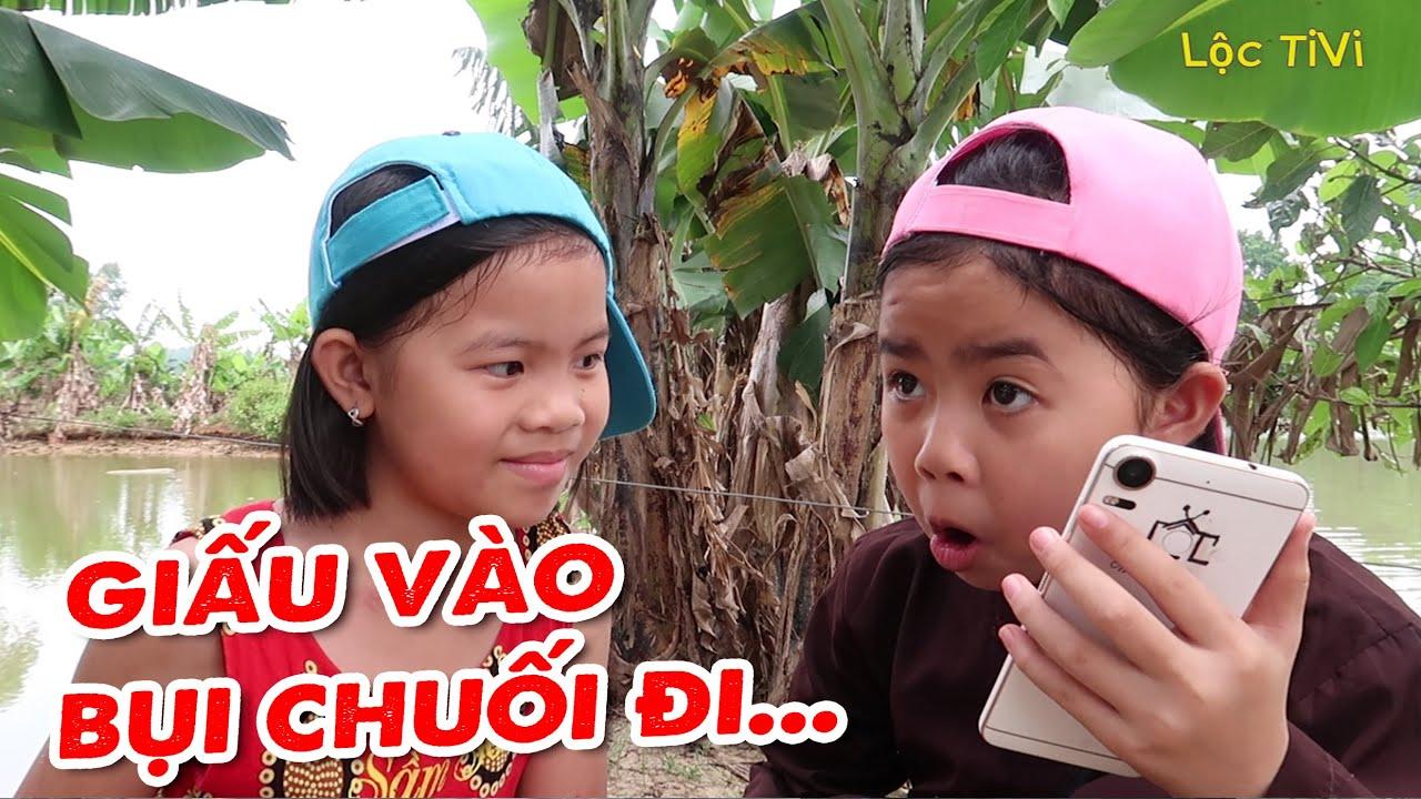 Lộc TiVi nhặt được Điện thoại Xịn Xò giấu vào Bụi Chuối và Bài học đáng quý