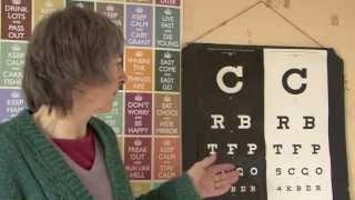 Charts Part 1, Bates Method natural eyesight improvement