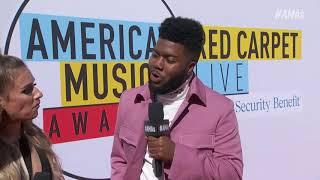 Khalid Red Carpet Interview - AMAs 2018