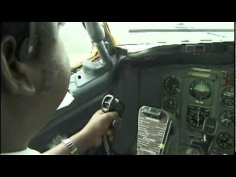 737-200 Across Mozambique