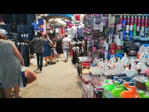 Biggest wholesale market Sadrak bazar in Baku Azerbaijan 2018