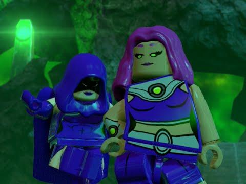 LEGO BATMAN 3 - Raven, Starfire & Terra FREE ROAM GAMEPLAY ...