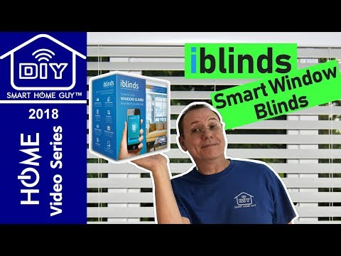 NEW iBlinds Smart Window Blinds Z-wave Plus Controller Review