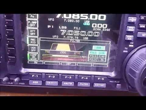 #0061 Filtros DSP en radio ICOM HF, mod IC 756ProII